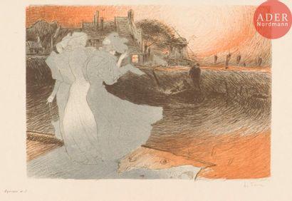 Georges de Feure (1868-1943) L'Aventure....