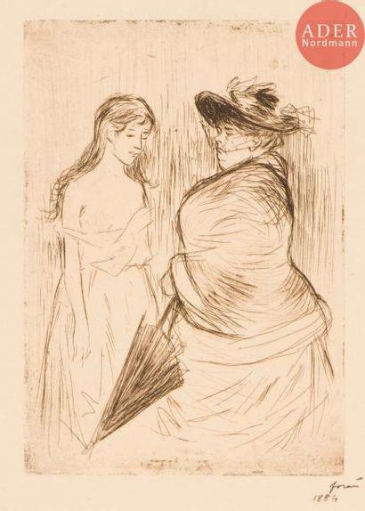 Jean-Louis Forain (1852-1931) La Traite des...