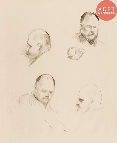 Jean-Louis Forain (1852-1931) Portraits d'Ambroise...