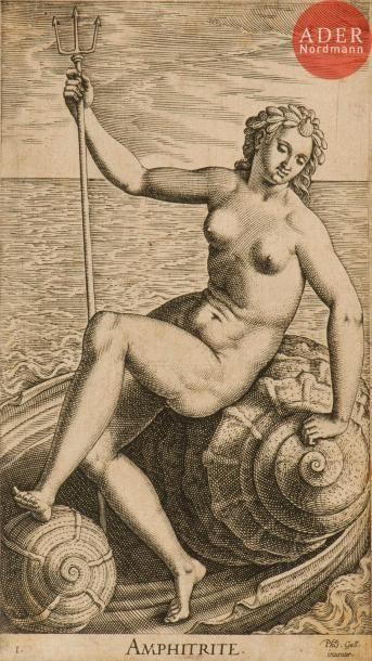 Philip Galle (1537-1612) Pl. de la suite...