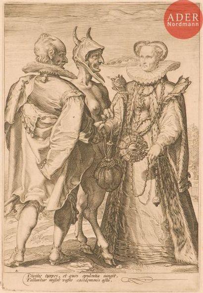 Hendrick Goltzius (1588-1617) (d'après) Les...