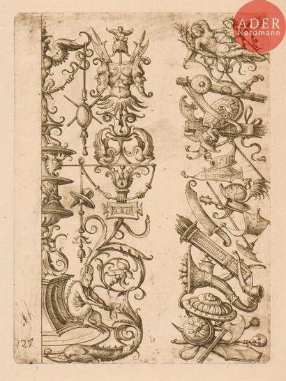 Daniel Hopfer (c. 1470-1536) Sujets diversd'ornements...
