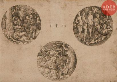Lambert Hopfer (c. 1510-c. 1550) Trois sujets...