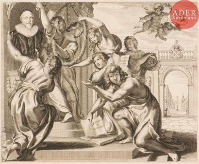 Grégoire Huret (1606-1670) Le Dieu de l'Éloquence...