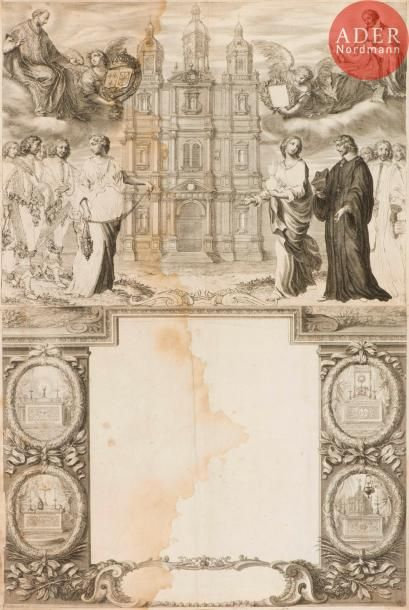 Grégoire Huret (1606-1670) Thèse. (Deux femmes...