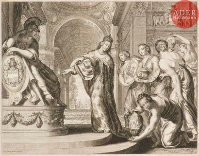 Grégoire Huret (1606-1670) Sujets allégoriques....