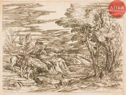 Valentin Lefebvre (1642-c. 1700) Paysage...
