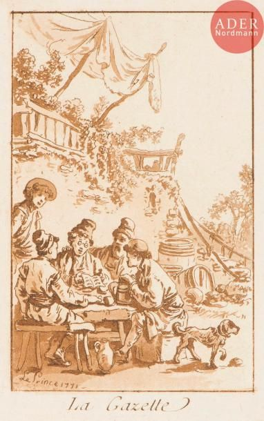 Jean Le Prince (1734-1781) Les Tragiques;...