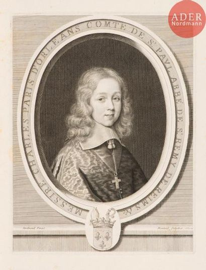 Robert Nanteuil (1623-1678) Messire Charles...