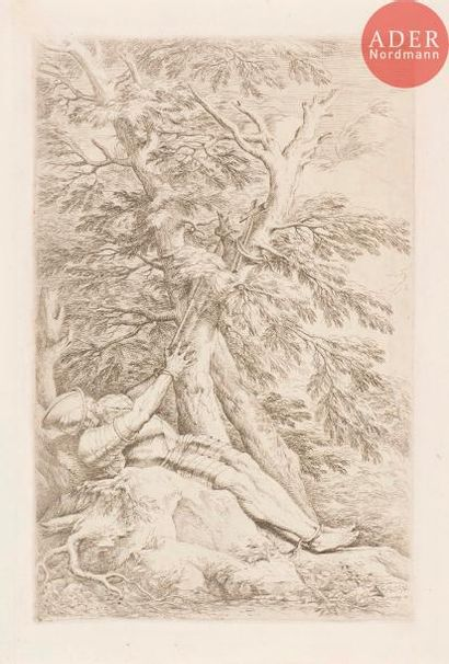 Salvator Rosa (1615-1673) Saint Guillaume...