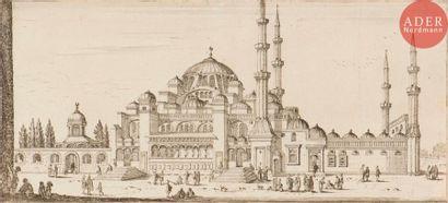 Israël Silvestre (1621-1691) L'Eglise Saincte...