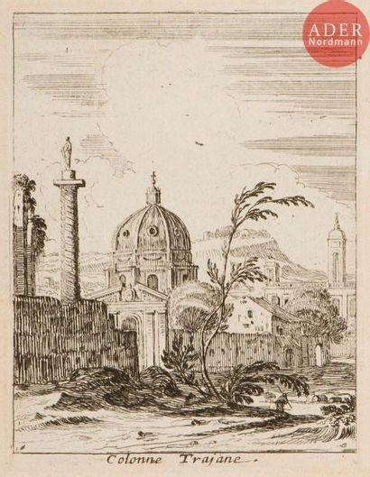 Israël Silvestre (1621-1691) 10 pl. pour...