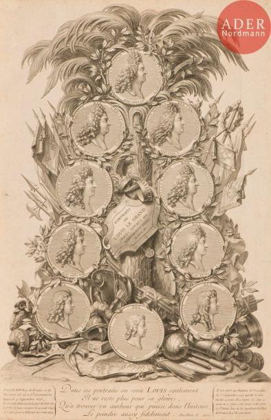 Charles Simoneau (1645-1728) Portraits de...