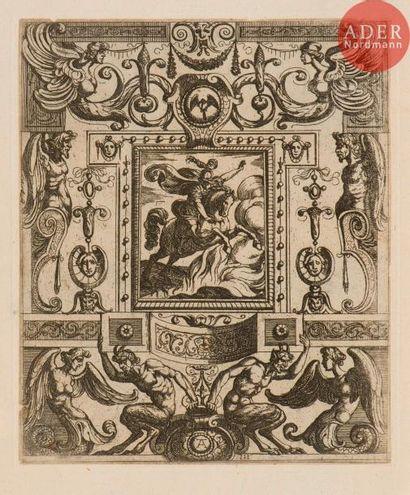 Antonio Tempesta (1555-1630) (d'après) Ornements....