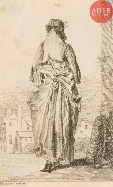 Jean-Antoine Watteau (1684-1721) La Femme...