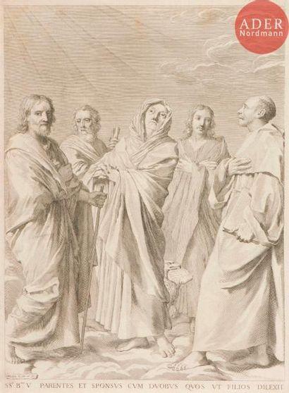 Claude Mellan (1598-1688) Parenté de la Vierge....