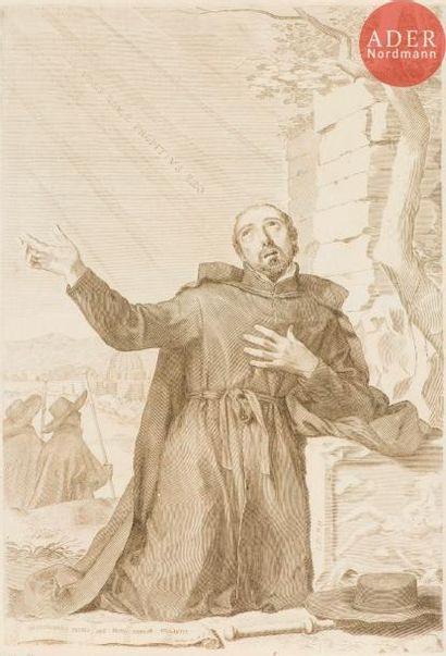 Claude Mellan (1598-1688) Saint Ignace de...