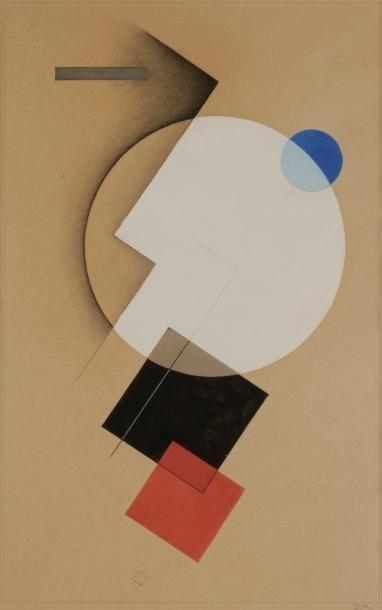 *Félix DEL MARLE (1889-1952) Composition,...