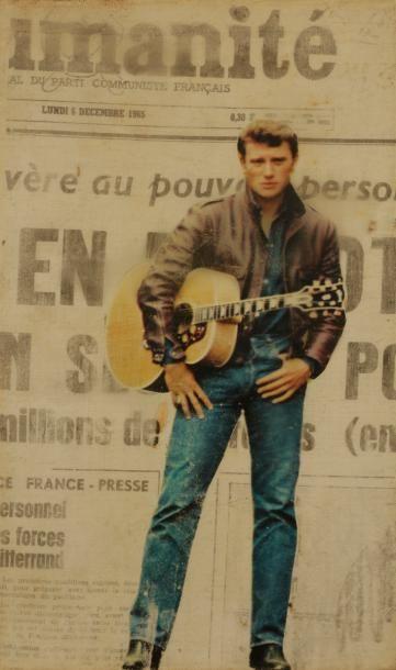 Jean-Louis BRAU (1930-1985) Johnny, L'Humanité,...