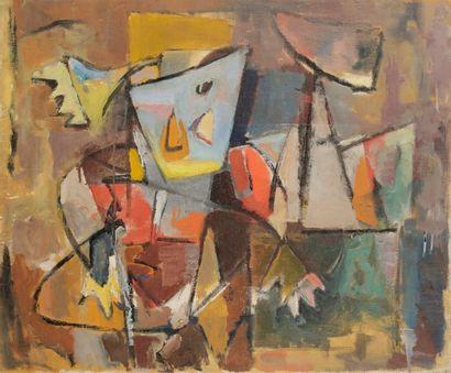 Jean-Dominique VILLERI (1896-1982) Composition,...