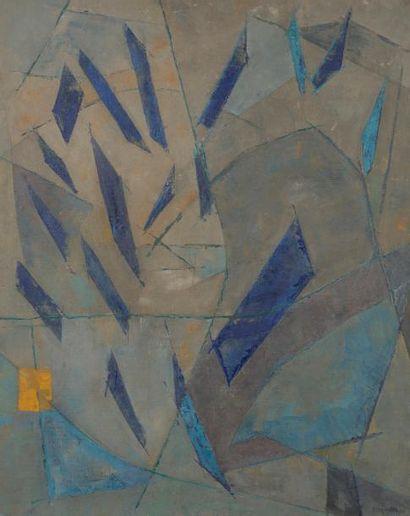Jean DEYROLLE (1911-1967) Alison, 1955 Huile...