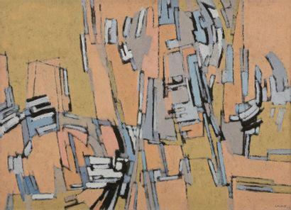 Pierre-César LAGAGE (1911-1977) Composition,...