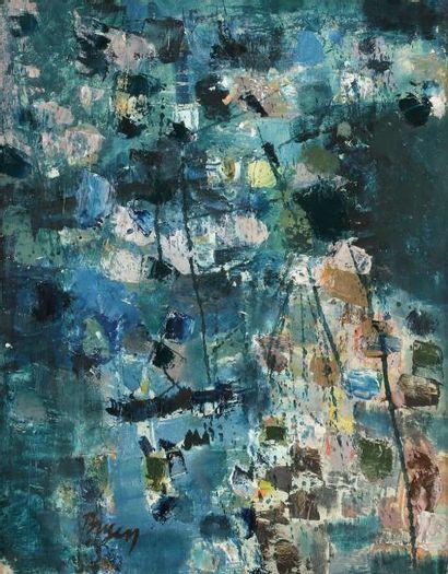 Camille BRYEN (1907-1977) Composition, 1958...