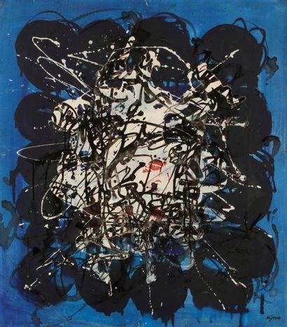 Ladislas KIJNO (1921-2012) Composition, 1962...