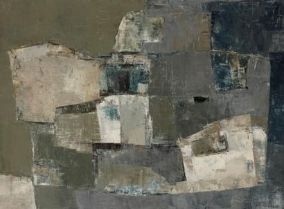 Emilia FAURE (née en 1924) Composition, 1957...