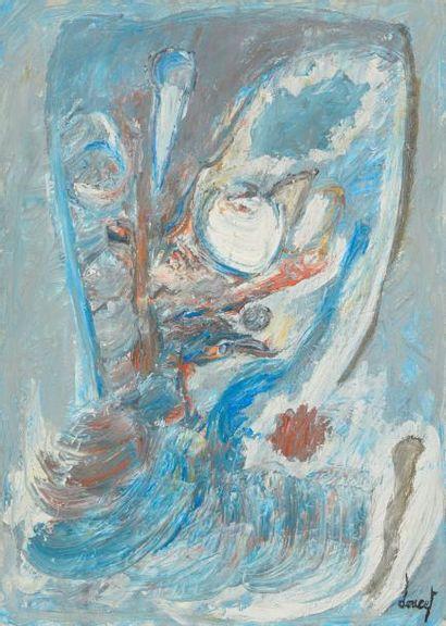 Jacques DOUCET (1924-1994) La Vague, 1965...