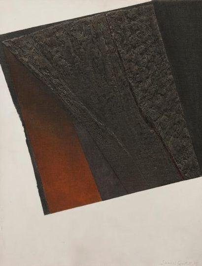 James GUITET (1925-2010) 20P.9.75, 1975 Huile...