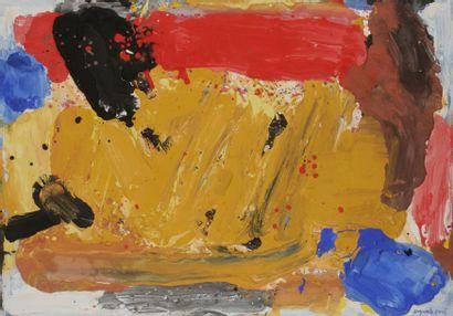 Bram BOGART [hollandais] (1921-2012) Composition,...