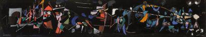 André LANSKOY [russe] (1902-1976) Composition...