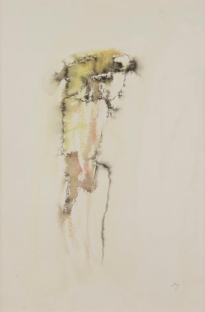 Henri MICHAUX (1899-1984) Composition Encre...