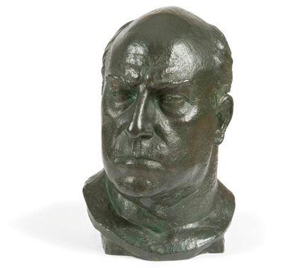 Paul RÖTHLISBERGER (1892-1990) Buste de Lucien...