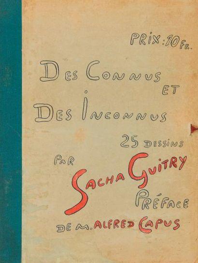 Sacha GUITRY Des connus et des inconnus 25...
