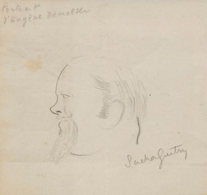 Sacha GUITRY Eugène Demolder, [ca 1908?]...