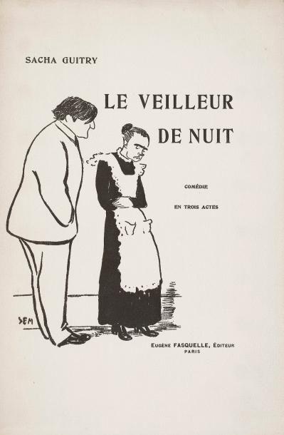 Sacha GUITRY Le Veilleur de nuit, comédie...