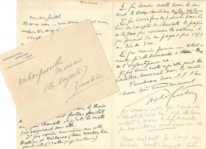 Sacha Guitry LAS, Monaco [fin 1914?], à...