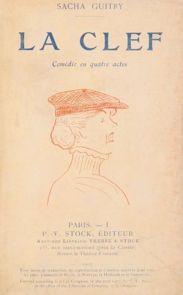 Sacha GUITRY 10 volumes brochés La Clef (P-V...