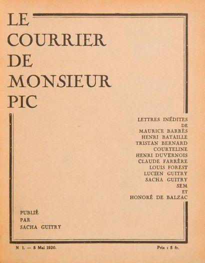 Sacha GUITRY Le Courrier de Monsieur Pic,...