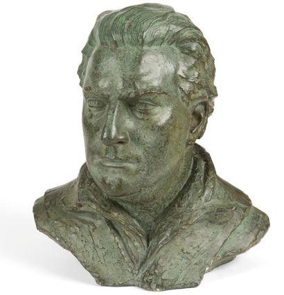 Paulo RÖTHLISBERGER (1892-1990) Buste de...