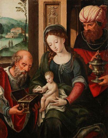 École ANVERSOISE vers 1580, atelier de Pieter...