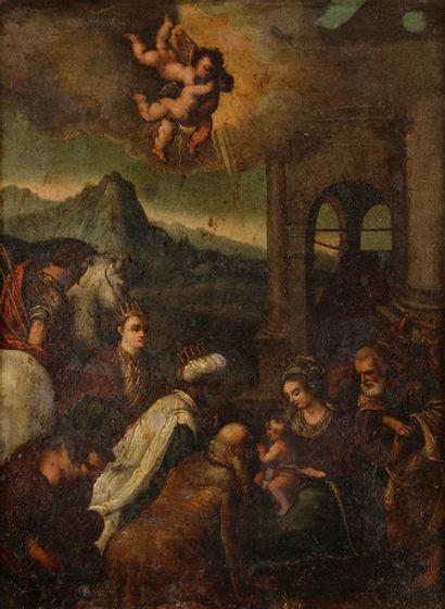 École VENITIENNE du XVIIe siècle, suiveur...