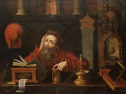 École FLAMANDE vers 1600, suiveur de Marinus...