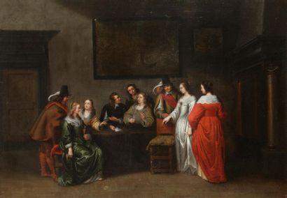 École FLAMANDE vers 1660, entourage de Hieronymus...