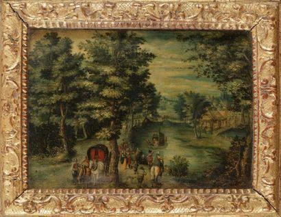 Attribué à Christoffel VAN DEN BERGHE (1590...