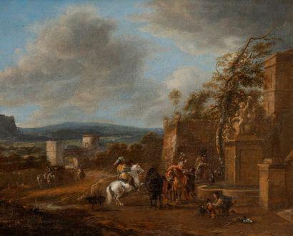 Attribué à Pieter WOUWERMANS (1623 - 1682)...