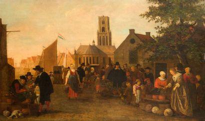 Attribué à Sybrand Van BEEST (1610 - 1674)...