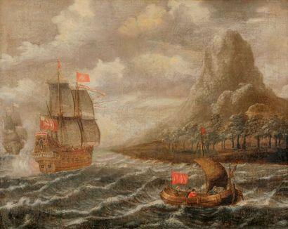 Attribué à Peter Van de VELDE (1634 - après...